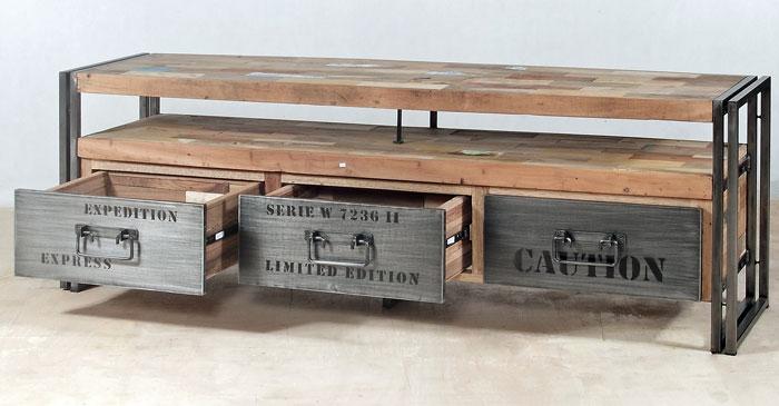 industrial rustic design furniture. DE-INTV-0003 Industrial Rustic Design Furniture T